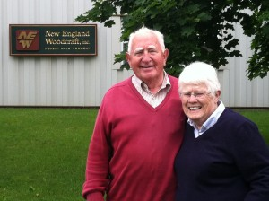 New England Woodcraft Owners Harmon and Maxine