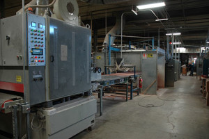 Fully Automated UV Finishing Line