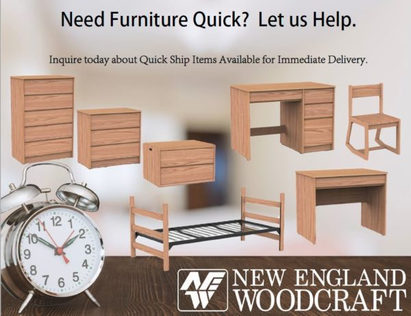 Need Residence Hall Furniture Quick? Let us Help.